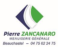 Logo et contact de la menuiserie zancanaro