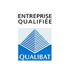 Qualification QUALIBAT de l'entreprise.